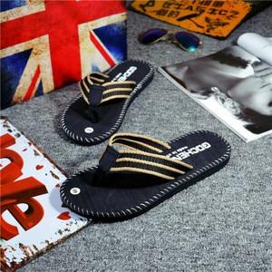 Image 5 - SHOFORT גברים נעלי כפכפים גברים מגניב קיץ כפכפים בית החלקה לנשימה נעלי החוף חיצוני סנדלי Zapatos דה hombre
