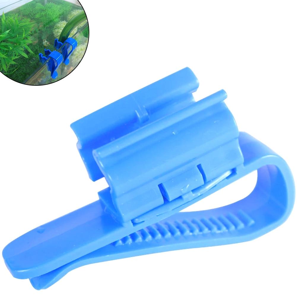 Купить пластиковый регулируемый держатель шланга для аквариума фильтрации
