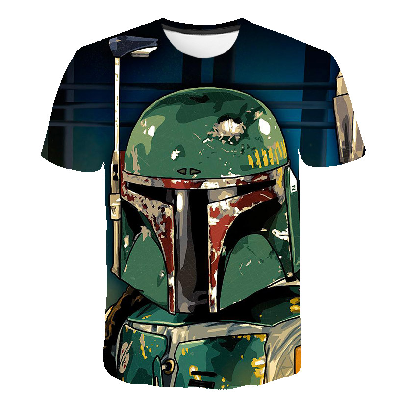 Baby Boys Mandalorian T Shirt Kids Boys Clothes Star Wars T-shirt Satanic Movie Graphic Teenager Tshirt Summer Top Camisetas
