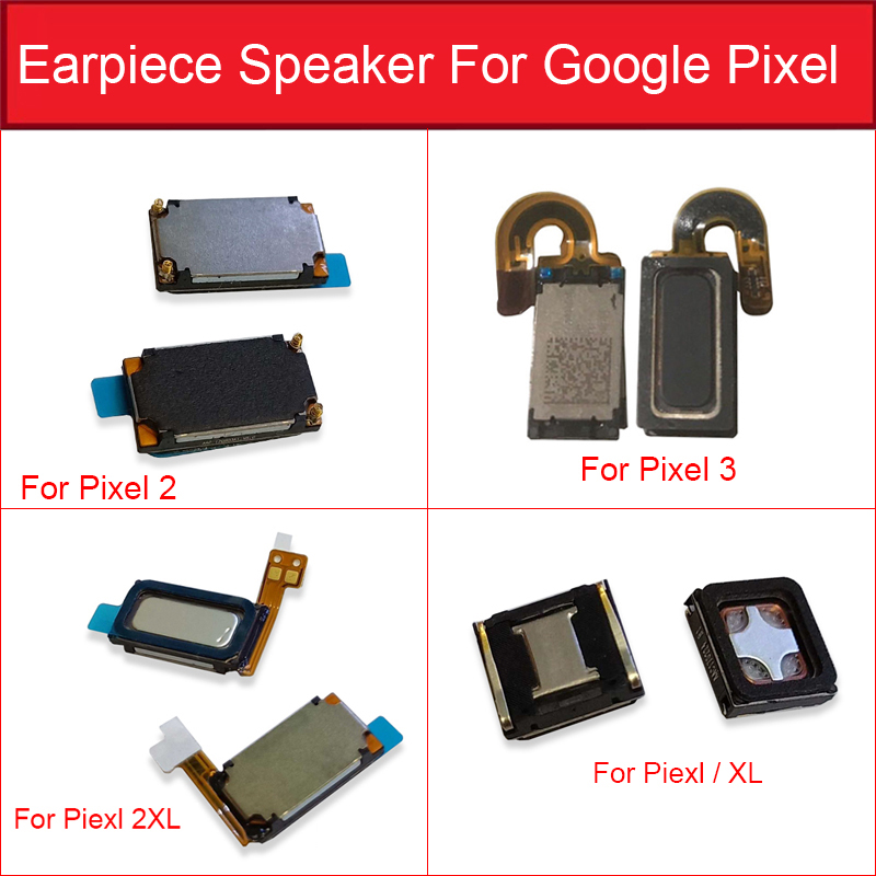 Earphone Speaker Flex Cable For Google Pixel XL 2 2XL 3 Earpiece Ear Speaker Sound Receiver Earpiece Replacement Parts Test