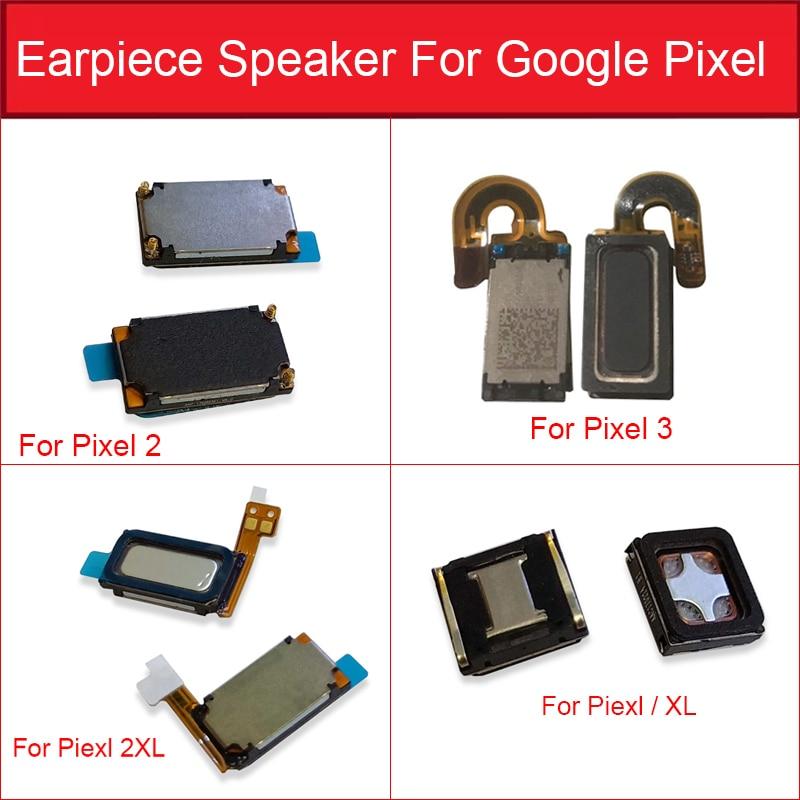 Earphone Speaker Flex Cable For Google Pixel XL 2 2XL 3 Earpiece Ear Speaker Sound Receiver Earpiece Replacement Parts Test