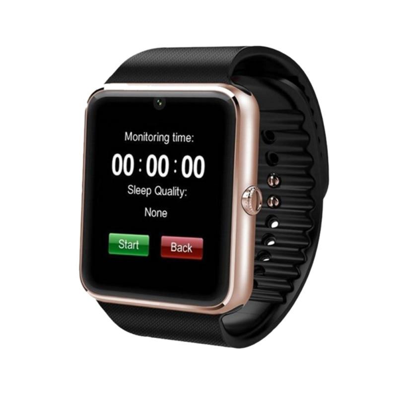 1.5 inch Smart LCD Watch Card Bluetooth 3.0 GT08 Wear Watch Multi-Language Health Monitoring Sports Wristband