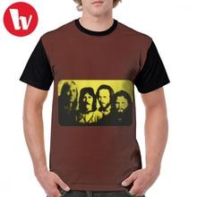 The Doors T Shirt LA Woman T-Shirt Casual Mens Graphic Tee Print 5x Funny Short Sleeves Polyester Tshirt