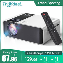 ThundeaL HD Mini Proyektor TD90 Asli 1280X720P LED Android WiFi Proyektor Video Home Cinema 3D HDMI Film permainan Projector(China)
