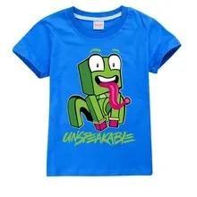 Kids Children Cotton PRESTONPLAYZ Cartoon T-Shirt Tracksuit Top Shorts Set