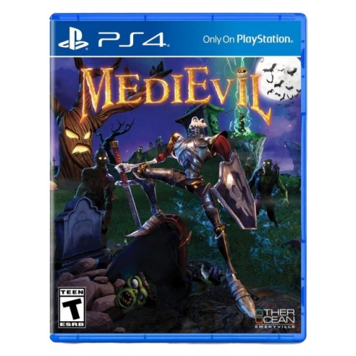 Sony Medievil Ps4 Game