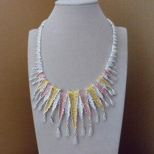 Image 2 - Yuminglai dubai conjuntos de jóias de fantasia design exclusivo para mulher fhk8944