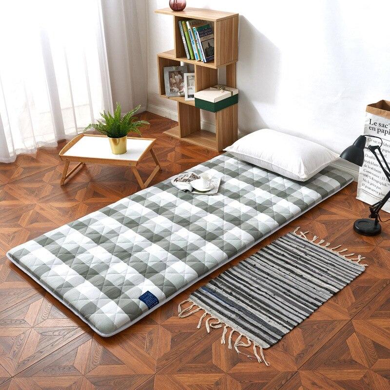 Factory Wholesale Student Dormitory Mattress Anti-Slip Foldable 0.9m Bed Mattress Tatami Coaster Floor Mat