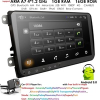 2 Din 9 Android Car GPS Navigation for VW Passat Golf MK5 MK6 Jetta POLO Touran Seat CANBUS WIFI Mirror Link Autoradio CAM dab+