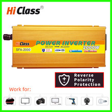 Power Inverter 12v 24v 48v Modified sine wave inverter 1000W/2000W/3000W converter Dc12v to Ac220v Solar Car Voltage transformer