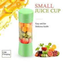 400ML Portable Juice Blender USB Juicer Cup Household Multi-function Fruit Mixer Six Blades Mixing Machine Smoothies Baby Food a1100 home use multi functional blender for juice smoothies with timer lcd panel