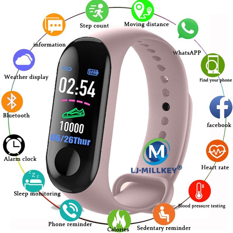 M3 Smart Watch Men Women Kids Smartwatch Montre Connect Android Ios Relogio Digital Luxury Smatch Watch PK B57