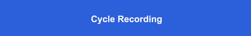 Cycle Recording标题