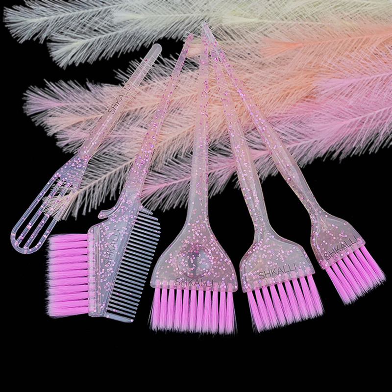 Hair Dye Kit,Hair Coloring Brush Set,Balayage Brush,Hair Brushes,Hair Bleach Styling Brush For Hair Dyeing,Hair Dye Brush