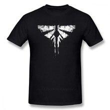 Camiseta de The Last Of Us para hombre, camiseta de los últimos de EE. UU., Camiseta de algodón 3xl, Camiseta estampada de manga corta para hombre, camiseta divertida
