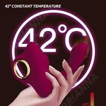 Sucking vibrator for women nipple sucker dildo USB heating Soft silicone G-spot clitoris Stimulator Adult sex toys for women