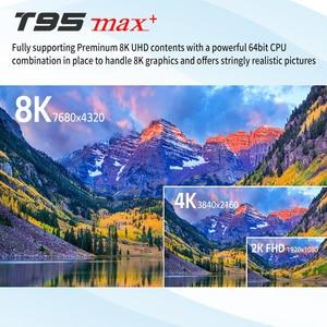 Image 4 - T95Z プラス/T95 最大プラス 16/32/64 ギガバイトの Android 7.1/9.0 4 4K テレビボックススマート tv ボックス 2.4 グラム/5 GHz 無線 Lan BT4.0 セットボックス T95 メディアプレーヤー