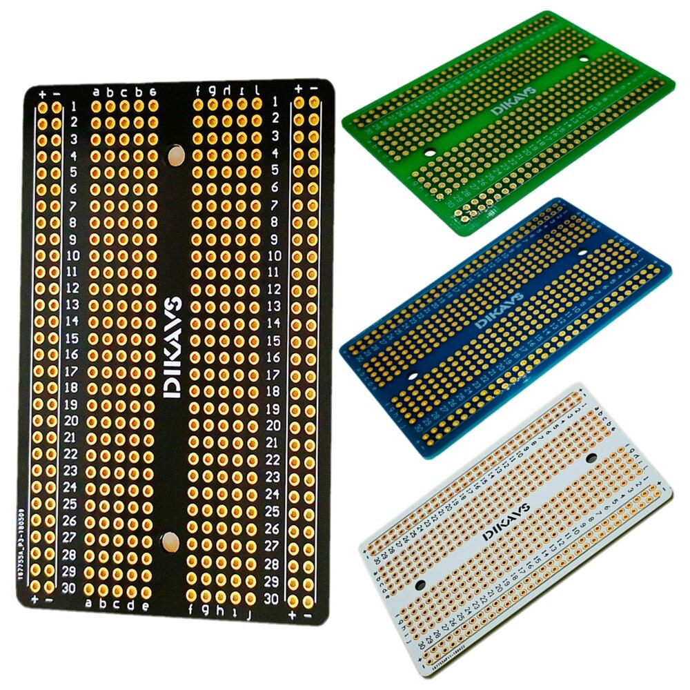 Welding Breadboard Pcb Board Prototype Board Protoboard Diy Prototype Electronics for Arduino
