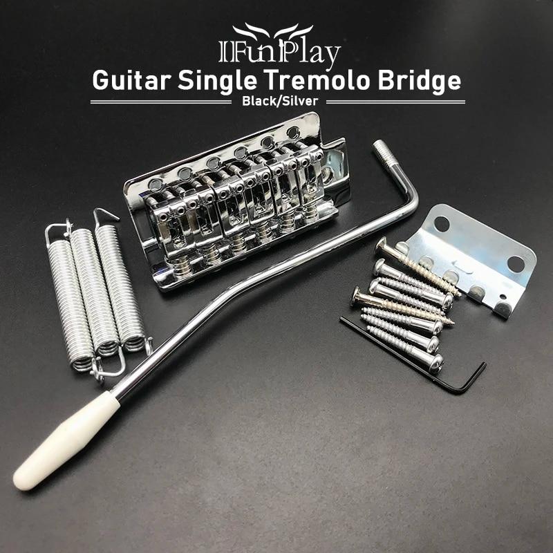 Double Locking Guitar Tremolo Bridge System Tremolo Bar for 6 String ST Strat TL