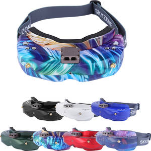 Camera Fpv Goggles Rc Plane Skyzone Sky02c Tracking Support-2d/3d with Fan DVR for Drone