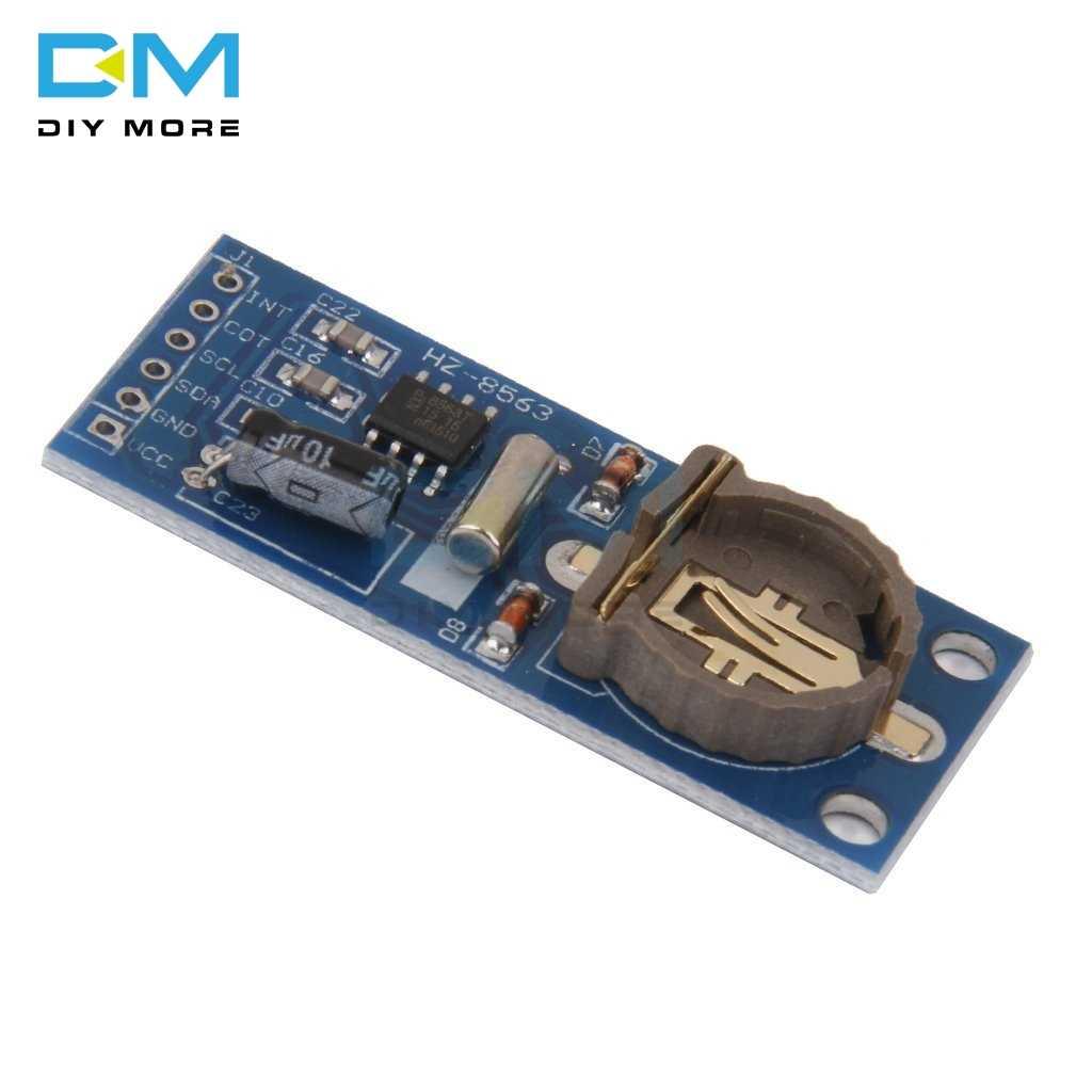 PCF8563 PCF8563T 8563 IIC I2C Antarmuka Real Time Clock RTC Papan Modul Baik Daripada DS3231 AT24C32 3.3V UNTUK ARDUINO raspberry Pi