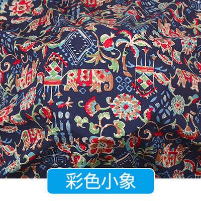 143 centimetri tessuto stampato abbigliamento per bambini visa di fiber in fiocco metro di tessuto morbido biancheria da letto estate pigiama commercio all'ingrosso del panno del tessuto
