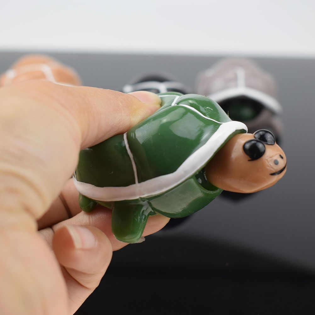 1 قطعة الإبداعية ضد الإجهاد الإغاثة الويب المشاهير اليد قرصة السلاحف تنفيس الكرة جديدة وغريبة لعبة متعة الأطفال ألعاب جنسية GYH