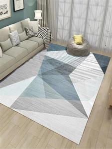 Nordic dywan do salonu 3D wzór dywan dla dzieci dekoracja pokoju dziecięcego duży dywan domowy korytarz dywanik podłogowy sypialnia nocna mata