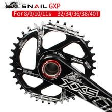 Caracol roda de corrente positiva e negativa gxp integrado chainwheel único disco 34/36/38/40 t xx1 x0 x9 x01