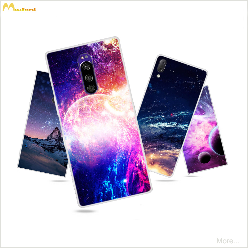 For <font><b>Sony</b></font> xperia <font><b>L3</b></font> <font><b>Case</b></font> XA2 <font><b>Experia</b></font> XA1 Ultra Silicone Phone Cover Space Skin For <font><b>Sony</b></font> Xperia 10 Plus <font><b>Case</b></font> 1 <font><b>L3</b></font> L2 XZ4 XZ3 Coque image