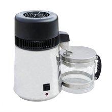 ECOSOURCES 4L 220 В дистиллятор воды из нержавеющей стали автоматический дистиллятор воды эксперимент фильтр очиститель бойлер
