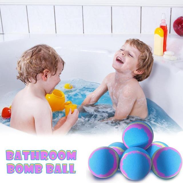 Bath Salt Bath Bomb Ball Moisturizing Bubble Shower Spa Soap Exfoliation Natural Organic Bubble Bath Bombs Body Cleaner Relaxion 5
