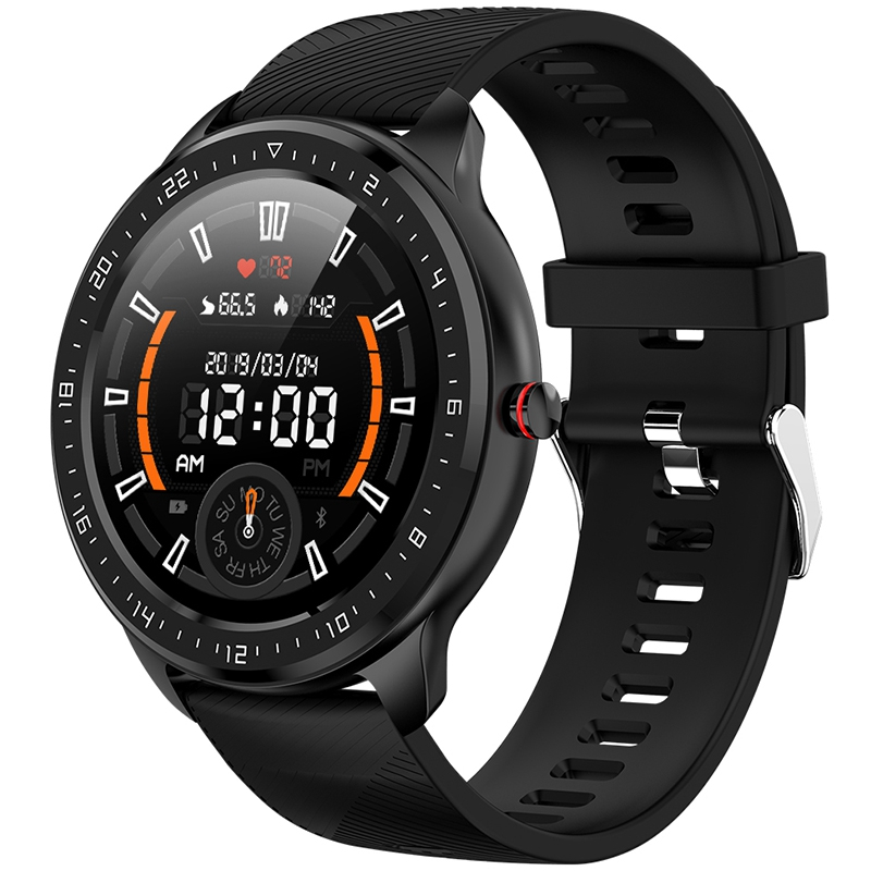 NEW-Z06 Full Sn Press Smart Watch Men IP67 Waterproof Heart Rate Blood Pressure Monitor for Android IOS Apple Phone