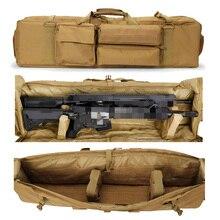 Tactical M249 Gun Bag Carbine Rifle Nylon Backpack Airsoft Shooting Hunting Shoulder Bag Military Outdoor Gun Carrying Case Tan стоимость