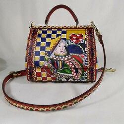 Сумка-тоут на заказ, сумка на плечо, сумка-тоут для покера, женская сумка на плечо с принтом, пляжная сумка известного бренда, сумка-мессендже...