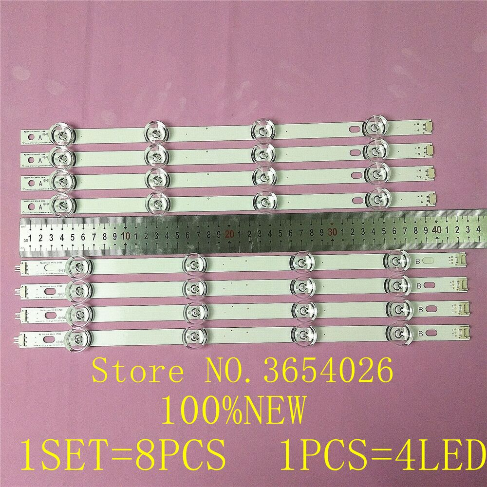 Free Shipping 100% NEW 16PCS(8*A,8*B) LED Strips For LG INNOTEK DRT 3.0 42
