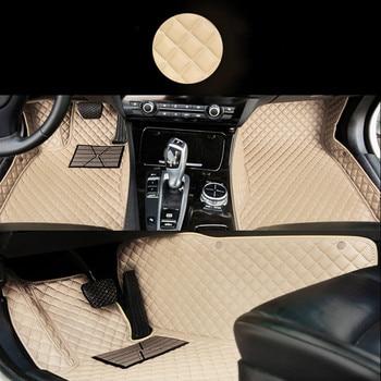 Full Covered Carpets Custom Left/Right Hand Drive LHD/RHD Car Floor Mats for Kia Opel Nissan Smart Mitsubishi Jeep Cadillac