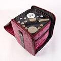 Saco cosmético de viagem mulher de grandes dimensões grande capacidade caixa de armazenamento pvc material à prova dwaterproof água moda alta qualidade caixa de beleza feminina