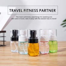 30/60ml Mini Travel Transparent Plastic Refillable Bottle Perfume Atomizer Empty Spray Bottle Reusable Cosmetic Container