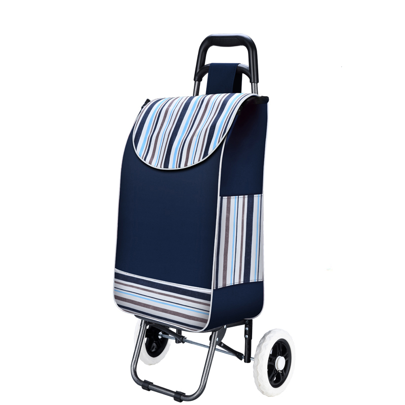 Grocery Cart Small Cart Folding Cart Trolley Portable Cart Home Climbing Stairs Shopping Cart Old Trailer