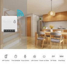 SONOFF MINI Smart Panel DIY Smart Switch Work with Alexa Google Home(China)