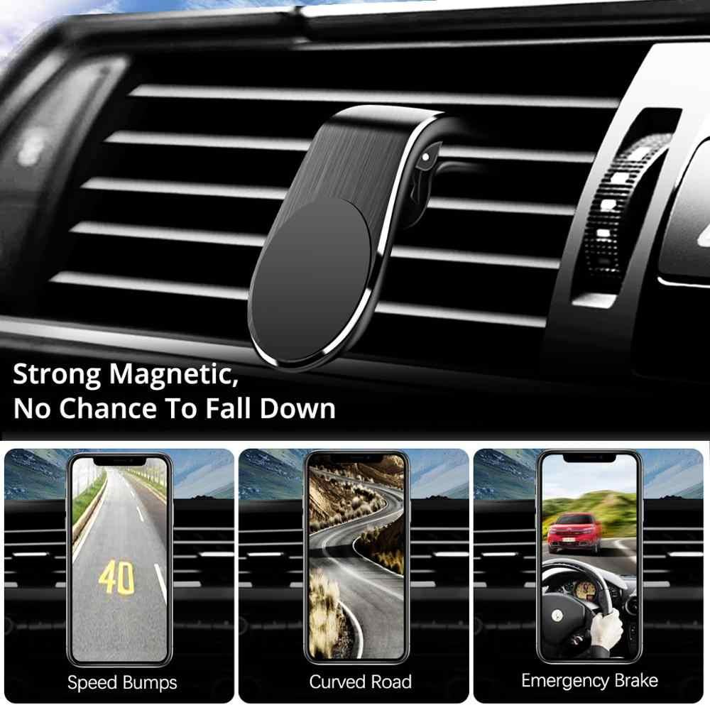 ANMONE טלפון מגנטי בעל רכב מחזיק הר Stand רכב אוויר Vent קליפ מגנט הר עבור iPhone 11 פרו מקס סמסונג xiaomi GPS