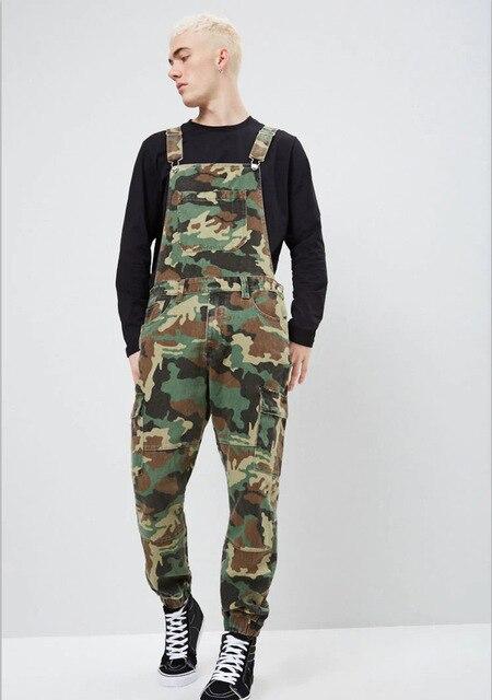 Men Ripped Denim Jumpsuit Overalls Jean Casual Suspenders Pants Men Fashion Hip Hop Jumpsuit Jean Bib Pant Streetwear 6
