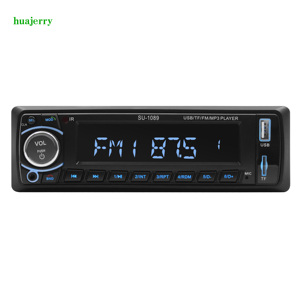 12V 1Din автомагнитолы стерео Bluetooth дистанционное управление зарядное устройство телефон USB/SD аудио MP3 плеер 1 DIN In-Dash автомобильный аудио радио