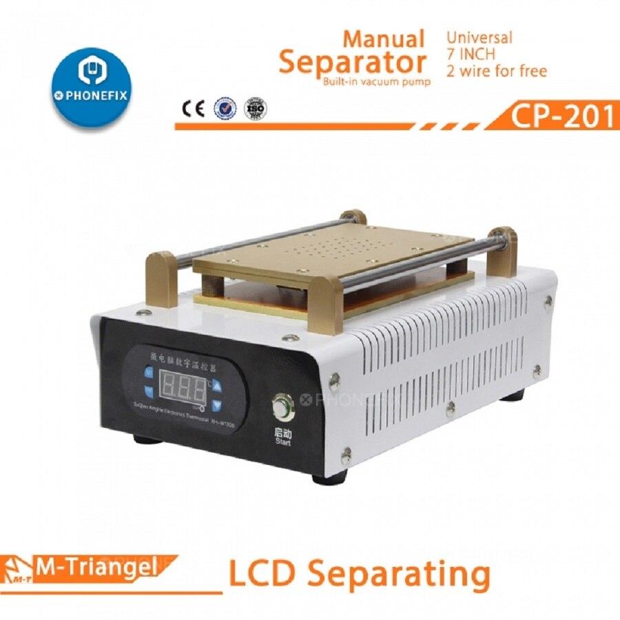 Professional Built in Pump Vacuum Glass LCD Screen Touch Screen Separator Machine 7 inches Phone LCD Screen Disassemble Repair - 2