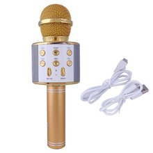 Bluetooth Karaoke Microphone Wireless Microphone Professiona Speaker Handheld Microfone Player Singing Recorder Mic