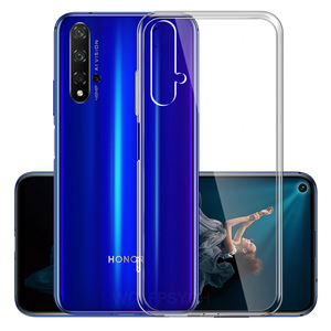 Image 1 - Slim Transparent Silicone Soft Case For Huawei Honor 20 Case Clear TPU Cover For Honor 20 9X Pro Phone Case on Honor 20 Lite