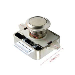 Image 5 - 1 Pc Car Push Lock RV Caravan Boat Motor Home Cabinet Drawer Latch Button Locks For Furniture Hardware Accessories