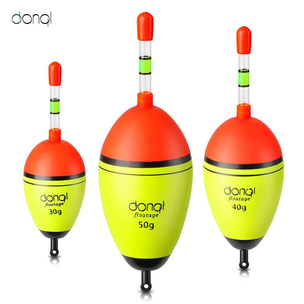 DONQL 1Pcs Night Glowing Fishing Floats 5Pcs Luminous Light Stick Accessories Sea Bobber Flotador Carp Fishing Tackle Fish Float