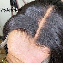 Pelucas frontales de encaje HD 13x6, pelo liso, Color Natural, encaje transparente, nudos blanqueados prearrancados, pelucas de cabello humano brasileño Remy
